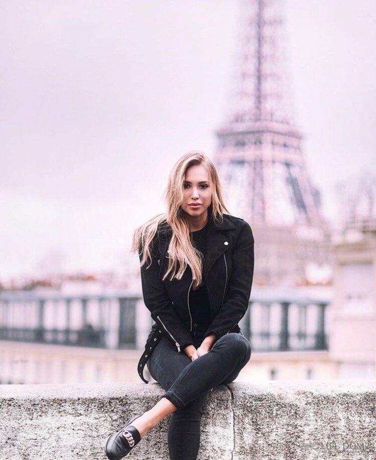 Фотоподборка с романтического путешествия в Париж Лизы Полыгаловой и её нового парня