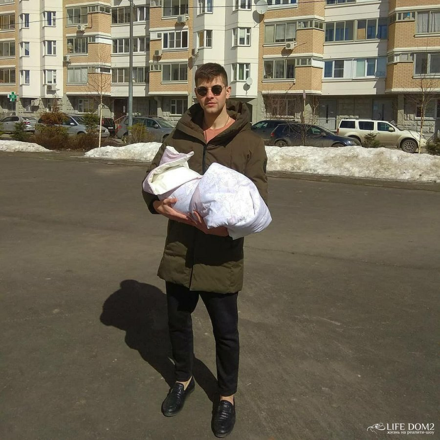 Дмитрий Дмитренко благодарен Богу за дочь