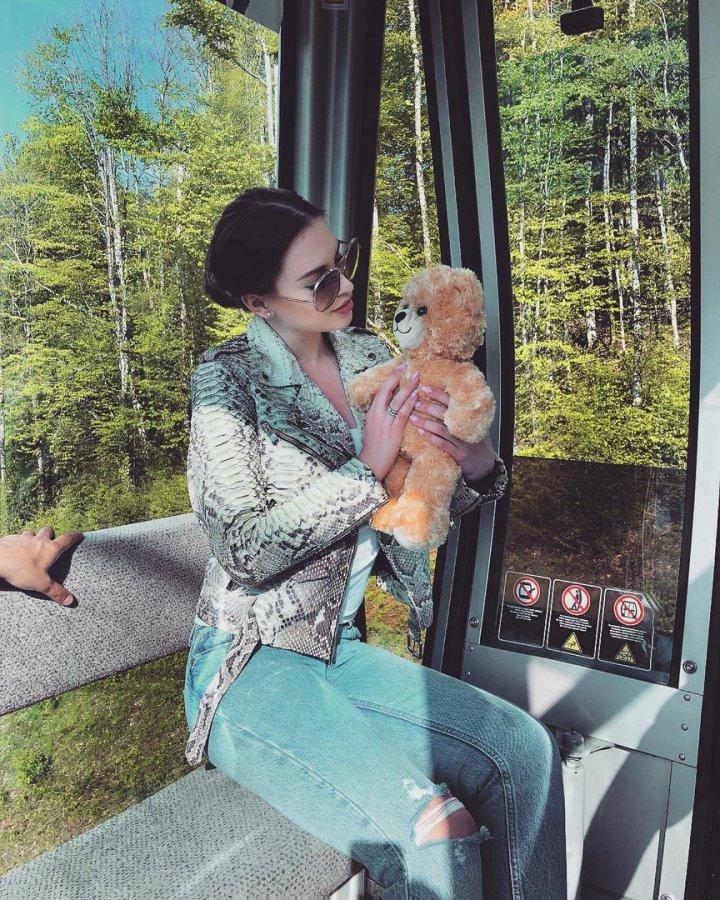 Фотоподборка Александры Артёмовой и Евгения Кузина с Красной Поляны в Сочи