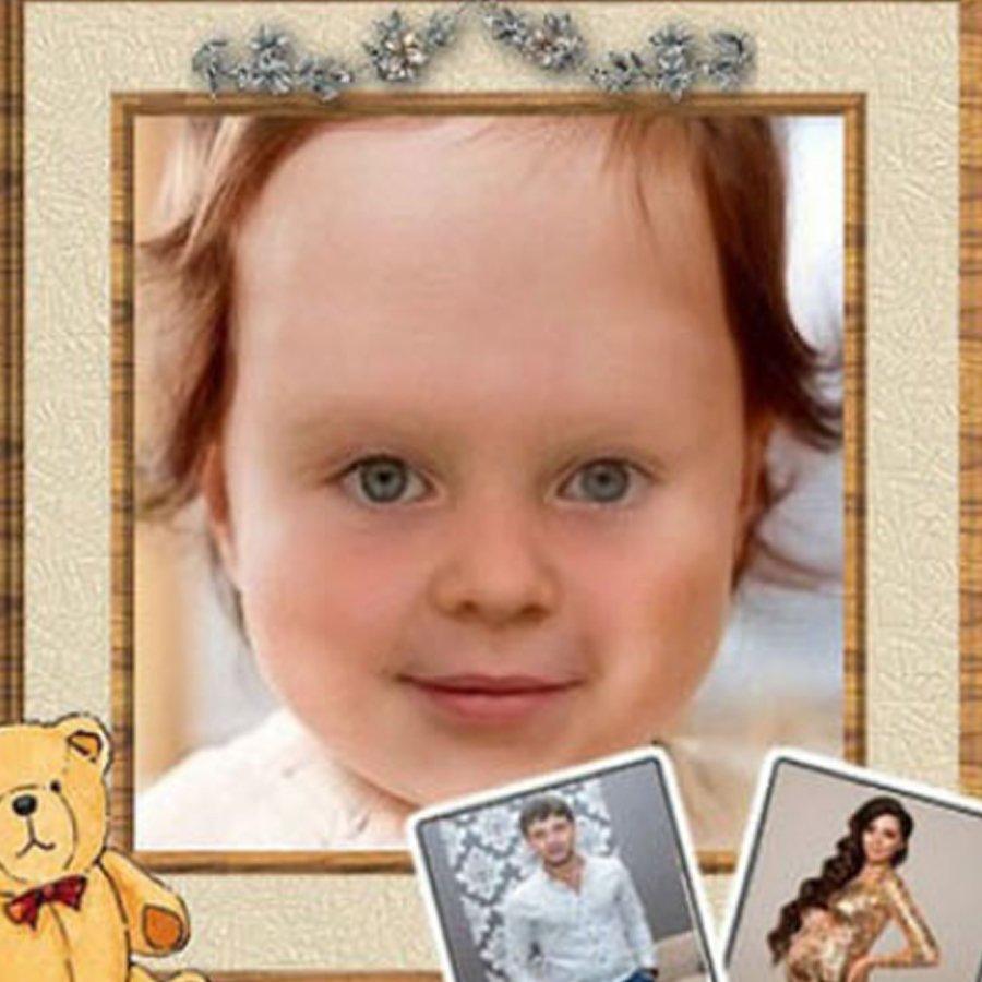Пользователи смоделировали внешний вид дочери Ольги Рапунцель с помощью специально программы