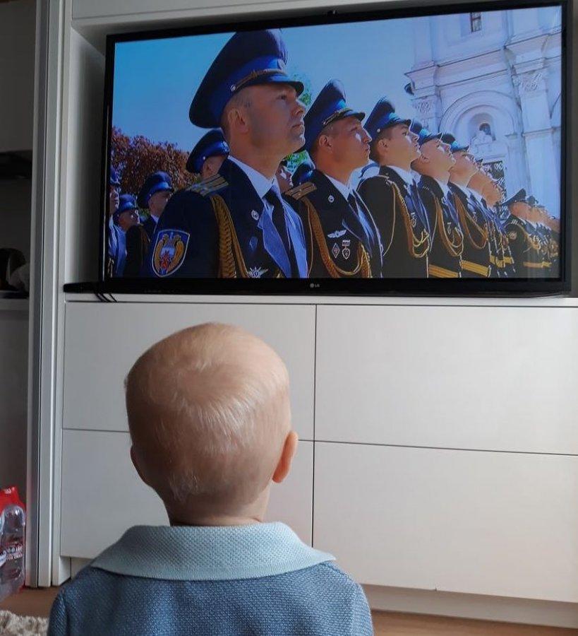 Сын Ксении Собчак проявил интерес к политике