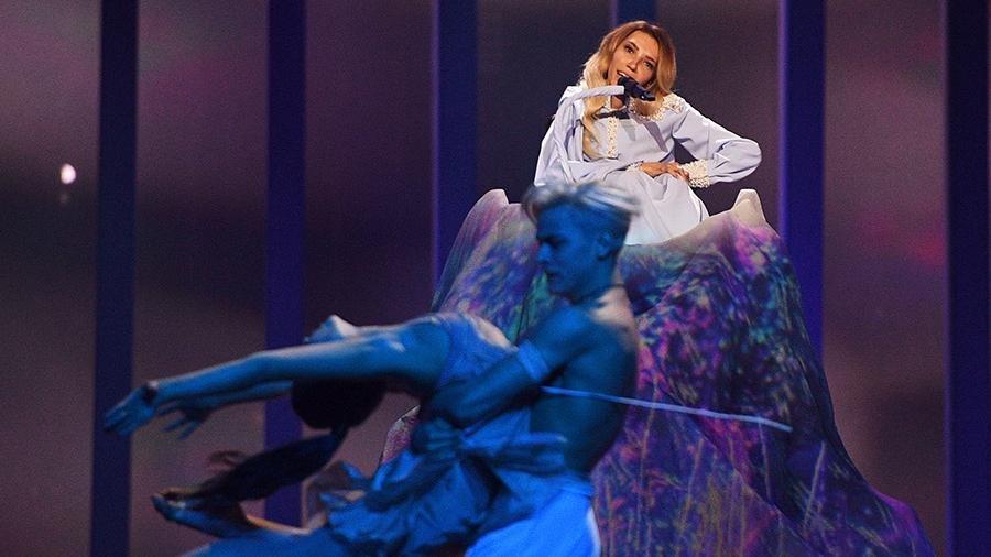 Самойлова вылетела из полуфинала Евровидения