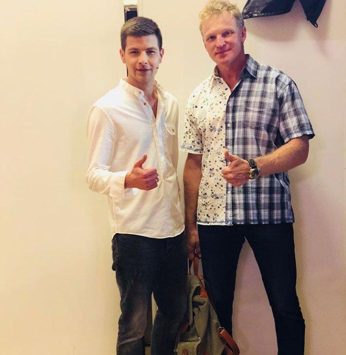 Дмитрий Дмитренко пообщался с Сергеем Писаренко на высокие темы
