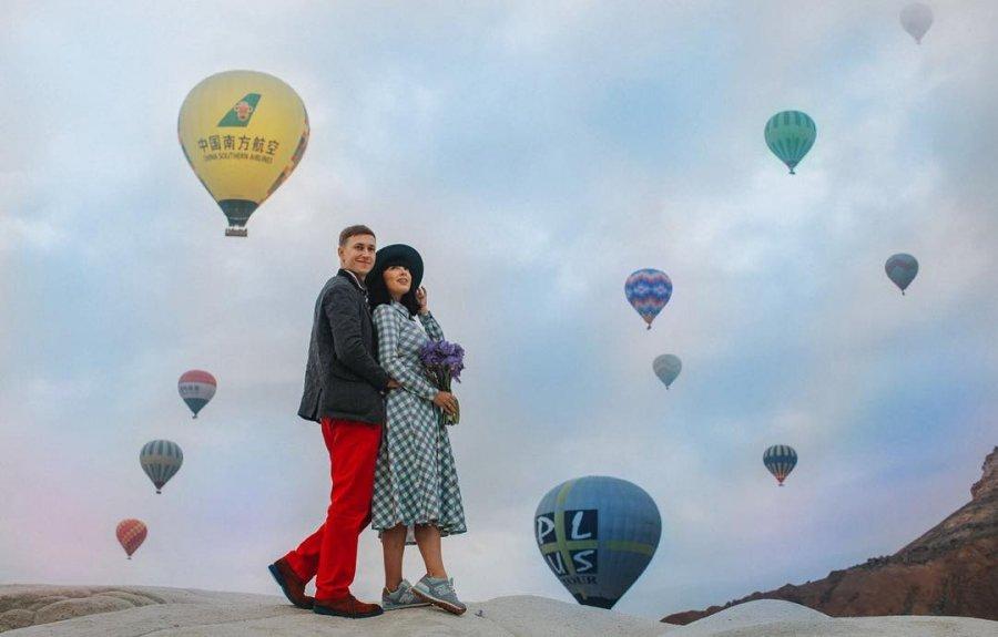 Путешествие Нелли Ермолаевой с мужем в завораживающую Каппадокию