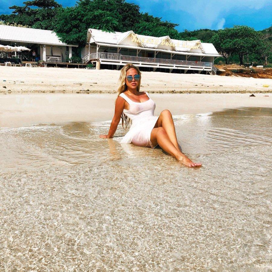 Экс-участница «Дом 2» Мария Кохно на отдыхе в Таиланде