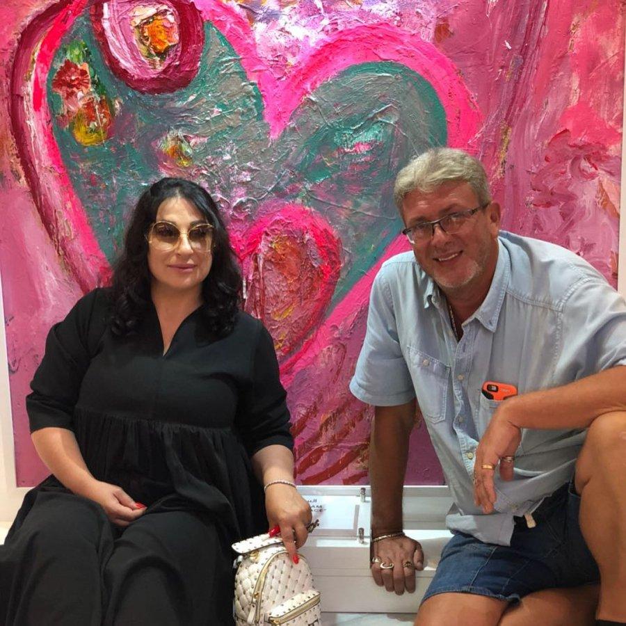 Тата Блюменкранц вместе с мамой и маленькой Бетти на отдыхе в Дубае