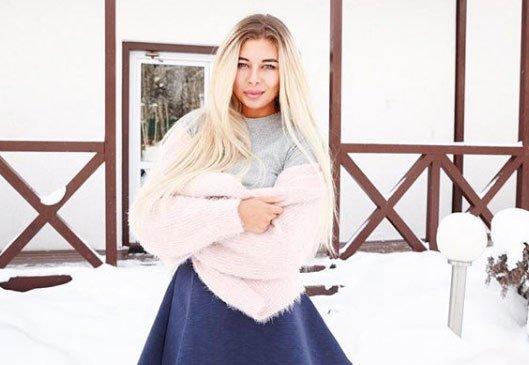 Лена Хромина значительно расширила свой гардероб за время пребывания на проекте