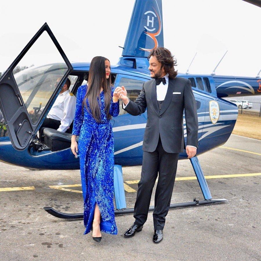 Фотосессия короля эстрады Филиппа Киркорова и Ольги Бузовой