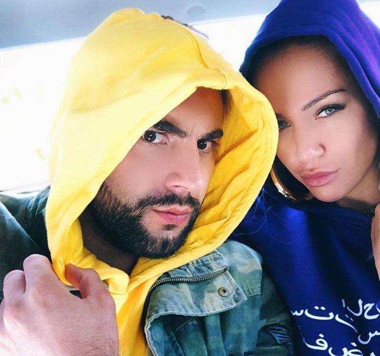 Лиза Триандафилиди и Алексей Чайчиц отдыхают у него на родине