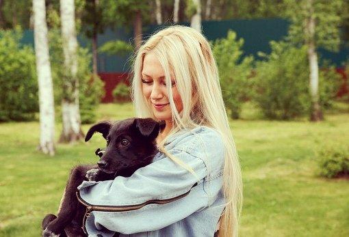 Екатерина Скютте очень любит животных