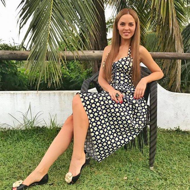 Юлия Ефременкова записала любовное послание Сергею Кучерову