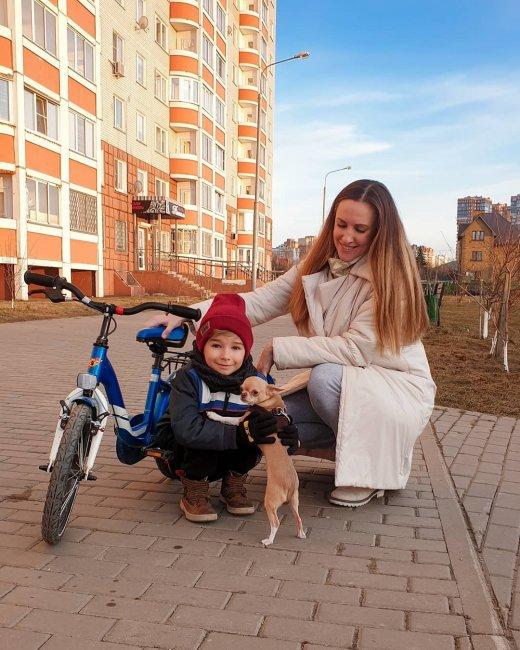 Ольга Гажиенко поздравила сына с днем рождения