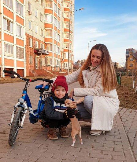 Сыну Ольги Гажиенко исполнилось 6 лет