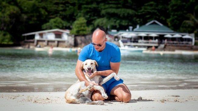 Фотоподборка Андрея Черкасова с любимцем Сейшельских островов