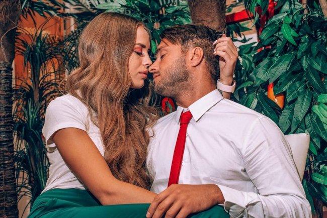 Фотосессия Милены Безбородовой и Алексея Безуса