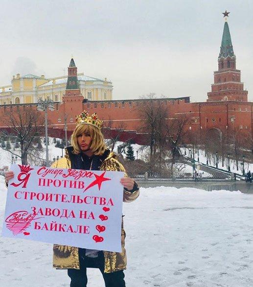Зверева оштрафовали на 15'000 руб. за защиту экологии озера Байкал
