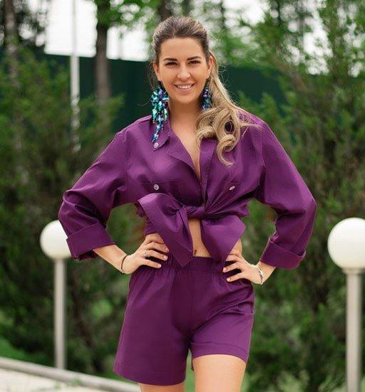 Майя Донцова попробовала себя в роли дизайнера одежды