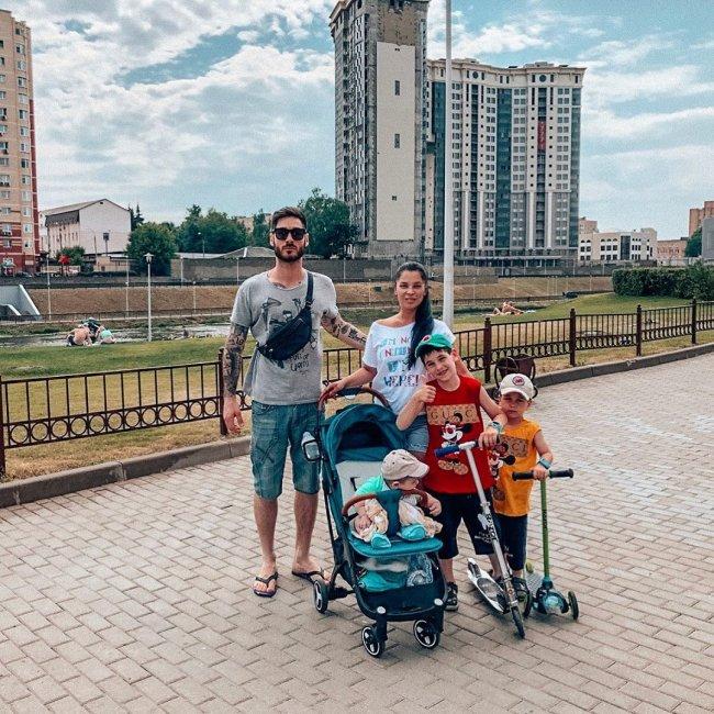 Фотоподборка дружной семьи Салибековых
