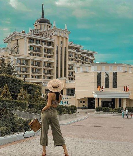 Фотосессия экс-участницы проекта Виктории Романец