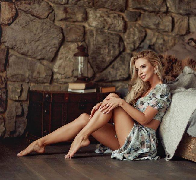 Фотосессия нежной и романтичной Кристины Черкасовой