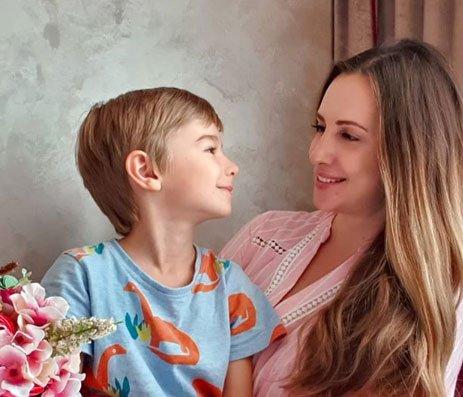 Ольга Гажиенко не спешит придумывать имя для будущего сына