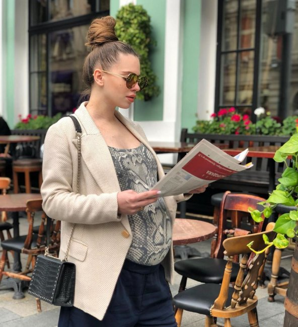 Беременная Саша Артемова рассказала, как ухаживает за собой