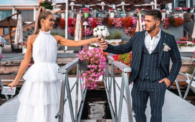 Свадебная фотосессия Марины Африкантовой и Романа Капаклы