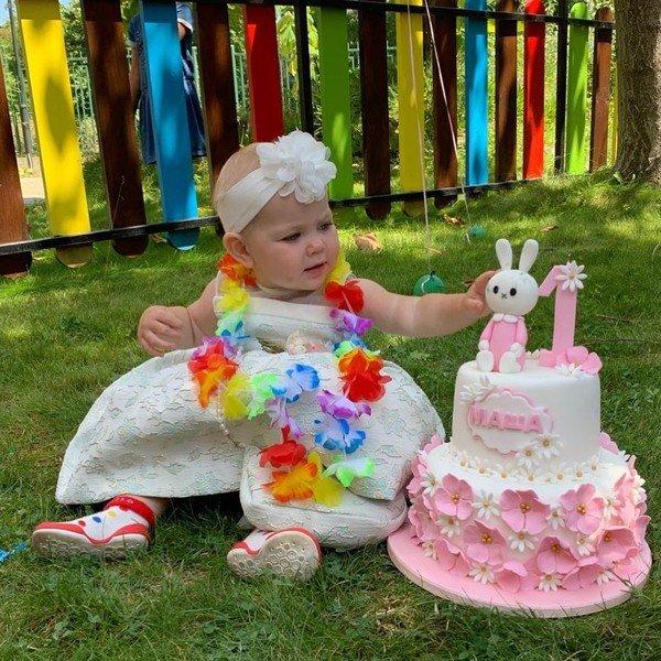 Годовалой дочери Леры Кудрявцевой родители устроили роскошный праздник