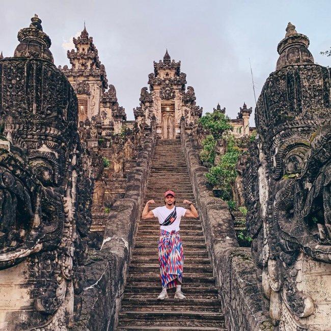 Фотоподборка Антона Гусева во время отдыха на Бали