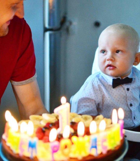 Фотоподборка с первого дня рождения сына Марии Круглыхиной