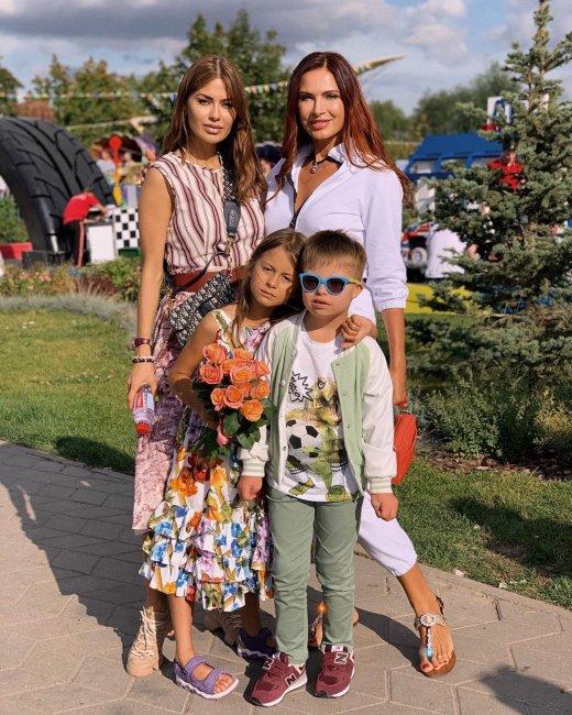 Виктория Боня с дочерью провела день в компании Эвелины Бледанс и ее сына Семена