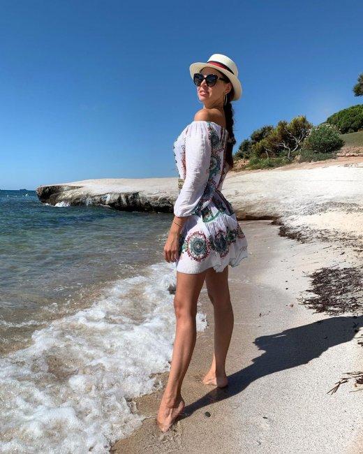 Фотоподборка Эллы Сухпновой на отдыхе на острове Сардиния