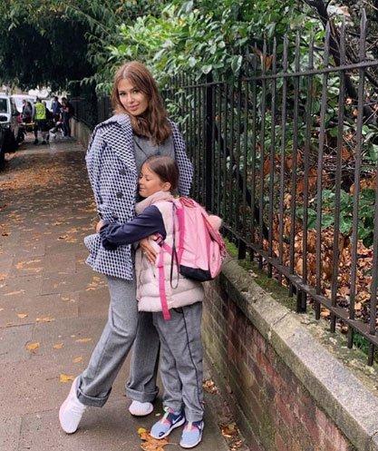 Виктория Боня с дочкой переехали из Монако
