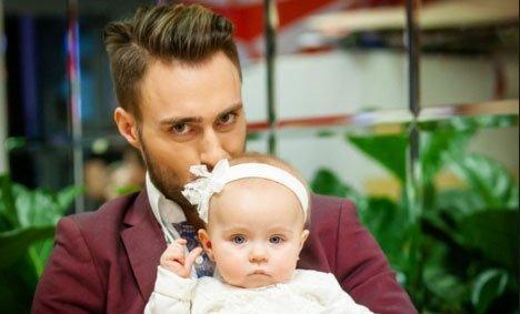 Алексей Безус переживает, что все больше отдаляется от дочки