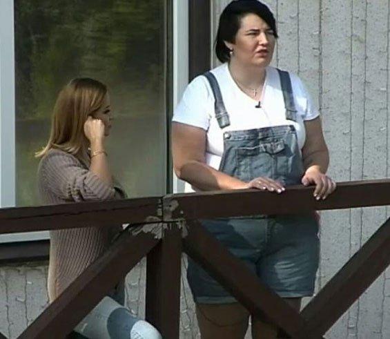 Зрители обратили внимание на то, как нелепо выглядят рядом Саша Черно и Ольга Орлова