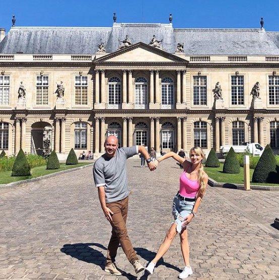 Фотоподборка с путешествия супругов Черкасовых в Париж