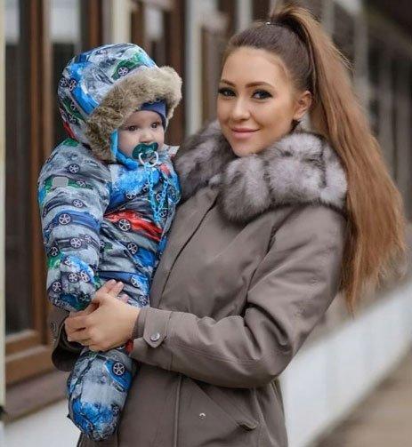 Алене Савкиной некогда заниматься ребенком