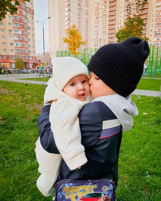 Ольга Гажиенко переживает за здоровье маленького Левы