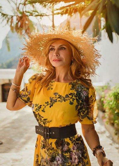 Фотосессия Ирины Агибаловой во время пребывания на Кипре