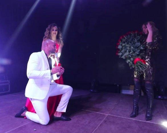 Юля Ефременкова счастлива, что стала невестой Мондезира