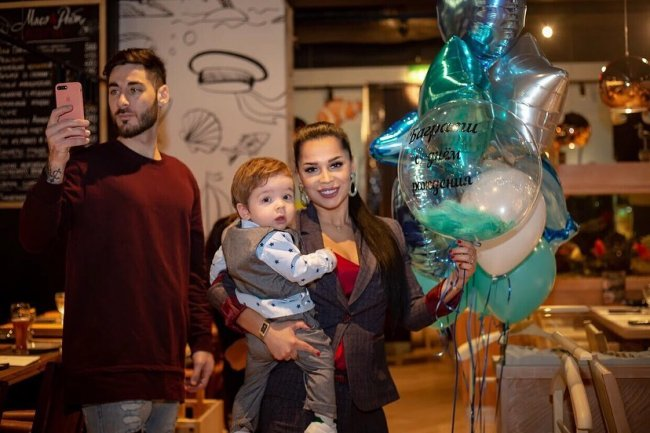 Фотоподборка с первого дня рождения Баграта Салибекова