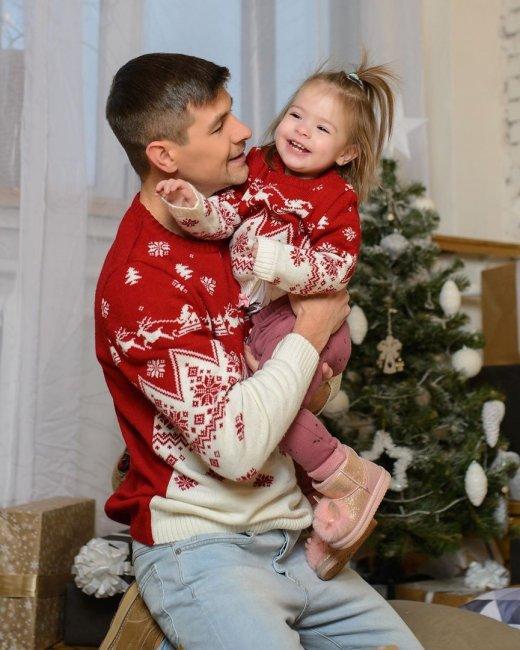 Фотосессия семьи Дмитренко для обложки журнала