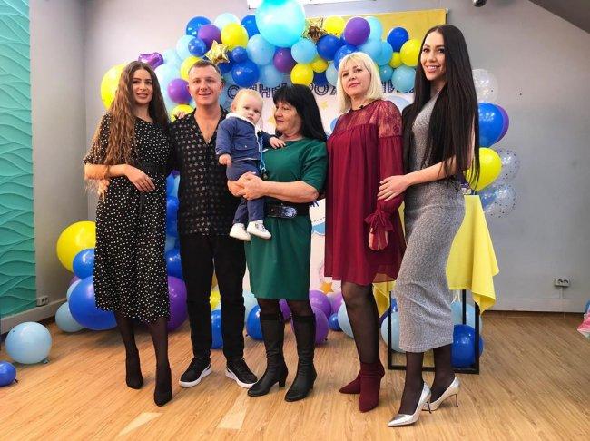 Фотоподборка с празднования первого Дня рождения Богдана