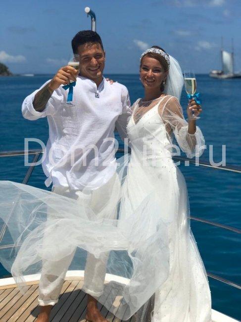 Юля Щеглова и Игорь Русанов стали мужем и женой