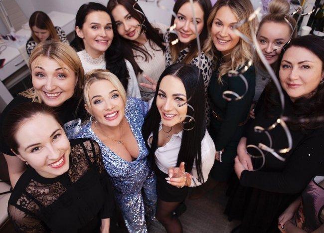 Фотоподборка с торжественного открытия студии красоты Кристины Черкасовой