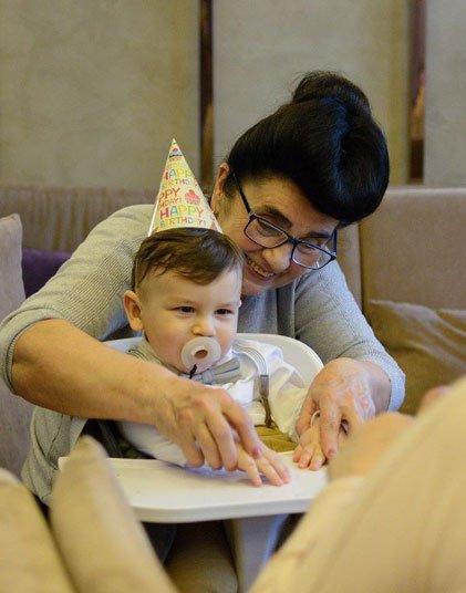 Фотоподборка с празднования дня рождения сына Даны и Димы Кварацхелия