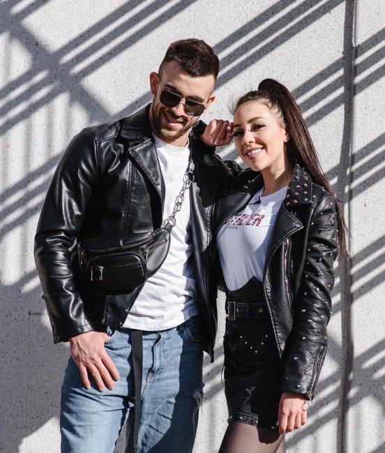 Фотосессия счастливых Игоря Григорьева и Алены Савкиной