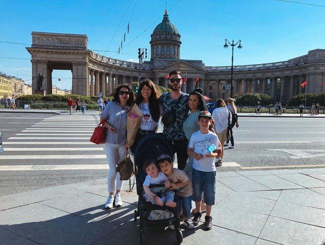 Большое семейство Салибековых