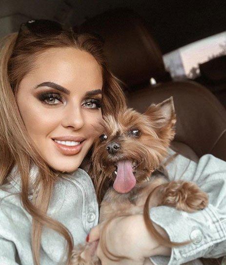Юлия Ефременкова подробно рассказала о болезни своей собаки