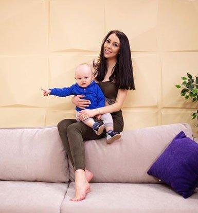 Алена Савкина не может растить сына без помощи родных и друзей